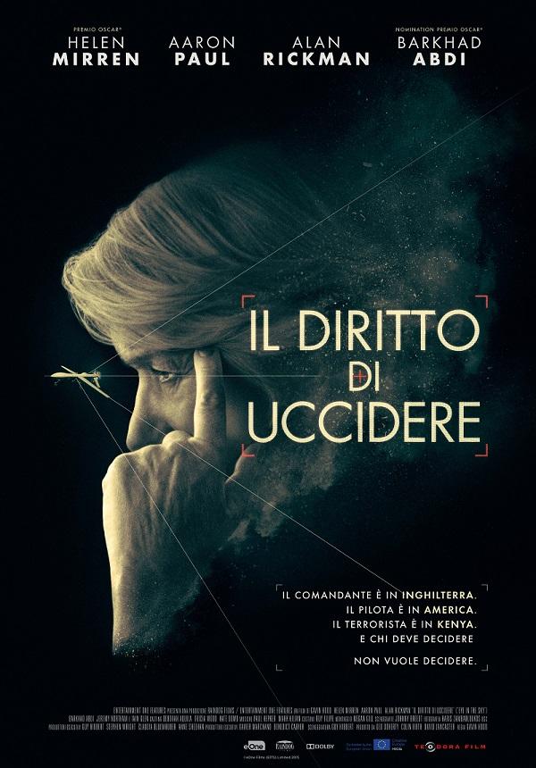 IL DIRITTO DI UCCIDERE - Eye In The Sky @ Cinema Splendor | Bari | Puglia | Italia